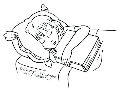 400x300 Skippyjon Jones Coloring Pages Coloring Pages Sleep Coloring Pages
