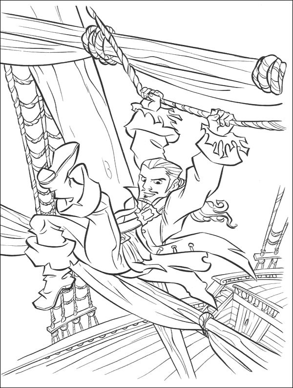 600x794 Will Turner In Action Coloring Pages