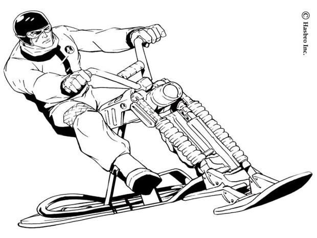 620x465 Action Man Coloring Pages