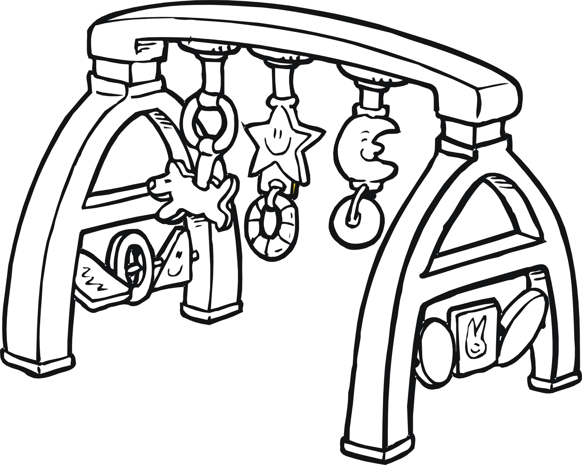 2000x1598 Fresh Baby Rattle Coloring Page Gallery Printable Coloring Sheet