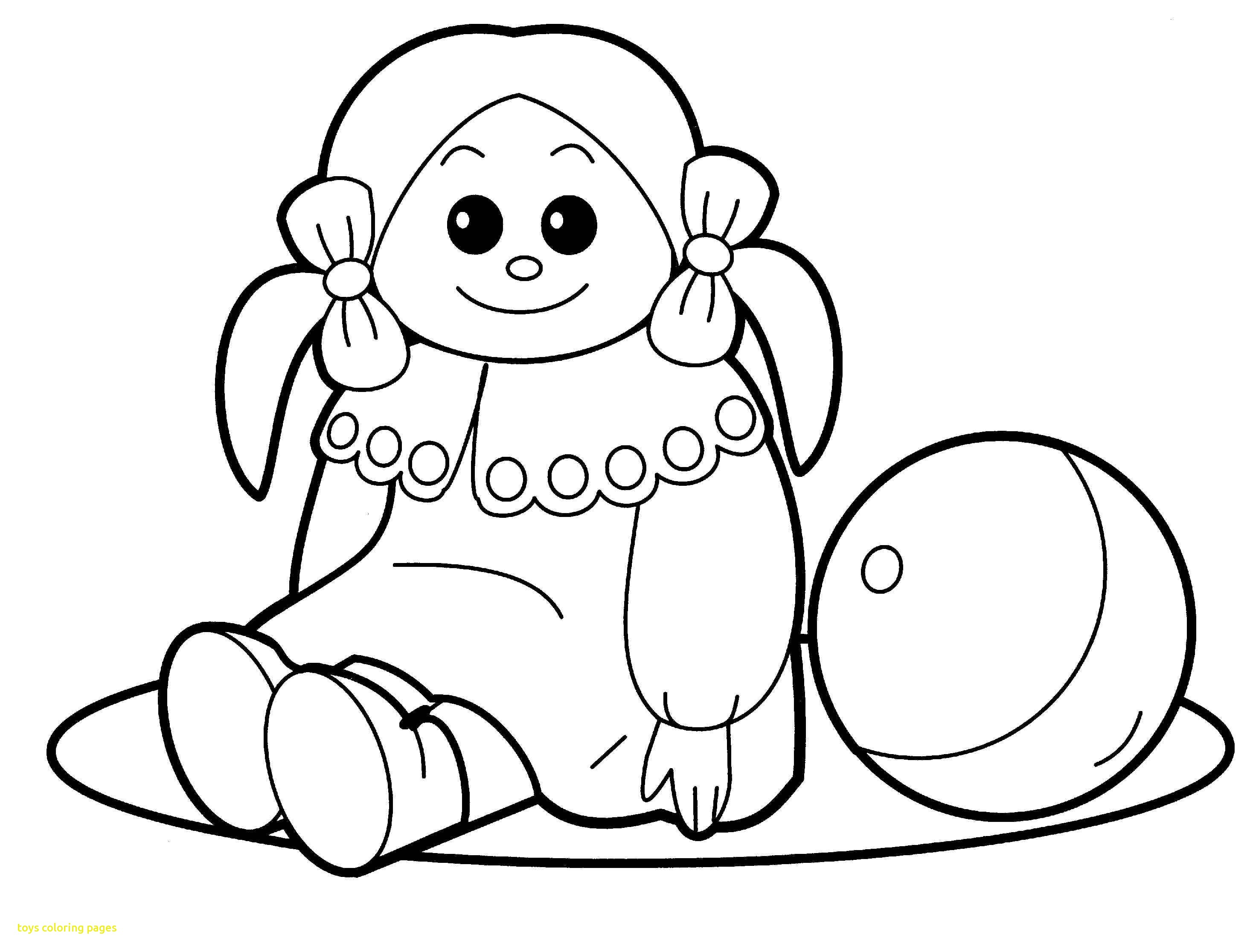 2930x2232 Toys Coloring Pages With Toy For Attic Coloring Pages For Kids New