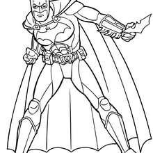 220x220 Batman Coloring Pages