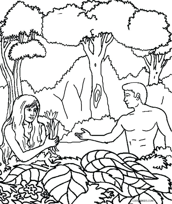 660x783 And Eve Coloring Pages Kids Also And Eve Coloring Pages
