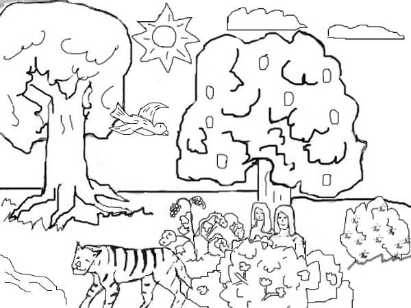 600x450 Garden Of Eden Clipart Creation Story