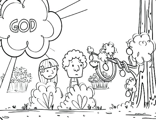 600x464 Adam And Eve Coloring Pages And Eve Coloring Pages The Story Adam