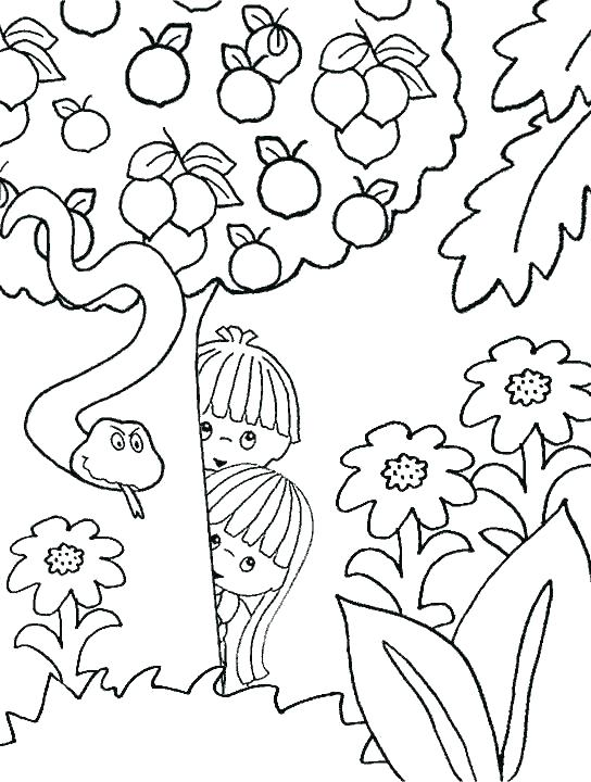 544x720 Adam And Eve Coloring Page Together With Good And Eve Coloring