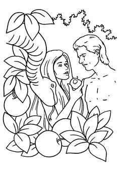 236x333 Wonderful Garden Of Eden Coloring Pages Coloring To Amusing Adam