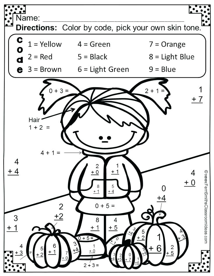 736x952 First Grade Coloring Pages Color