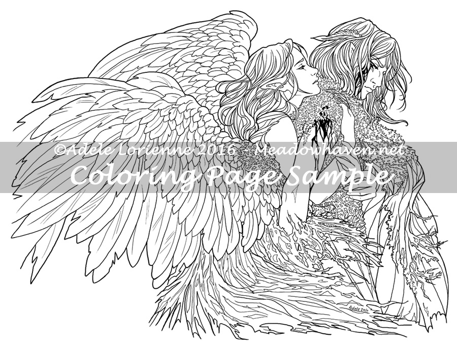 900x681 Art Of Meadowhaven Coloring Page Divide The Sky