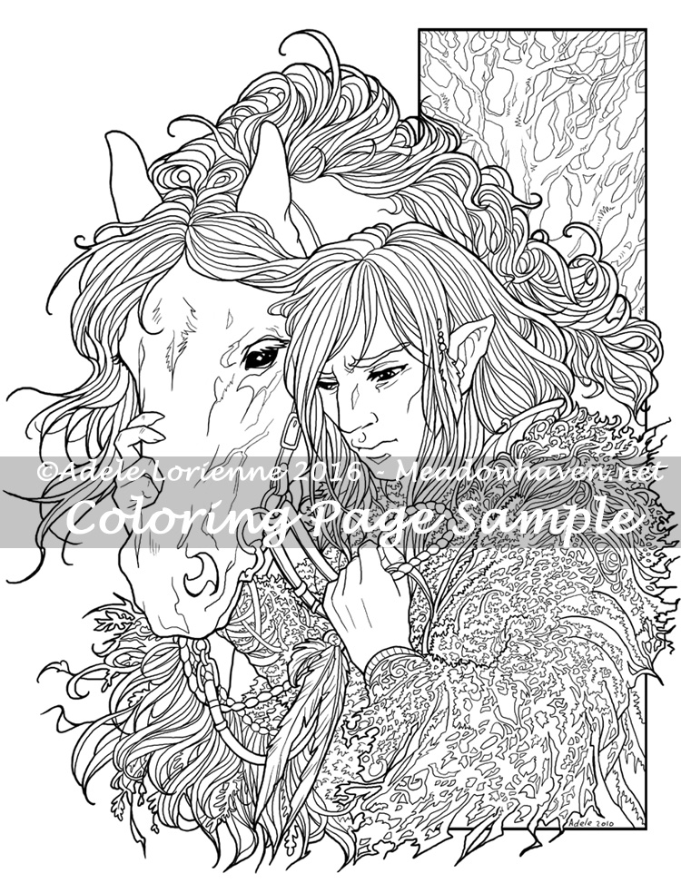750x973 Art Of Meadowhaven Coloring Page Trust