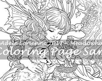 340x270 Fantasy Art And Coloring Pages