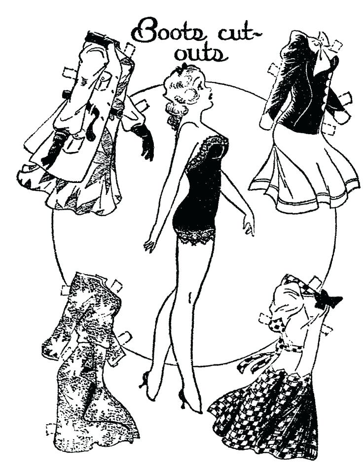 736x959 Adele Paper Doll Book The Paper Dolls Printable Coloring Pages