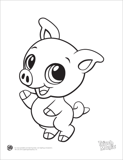 405x524 Cute Animal Coloring Pages Printable Cute Ba Animals Coloring