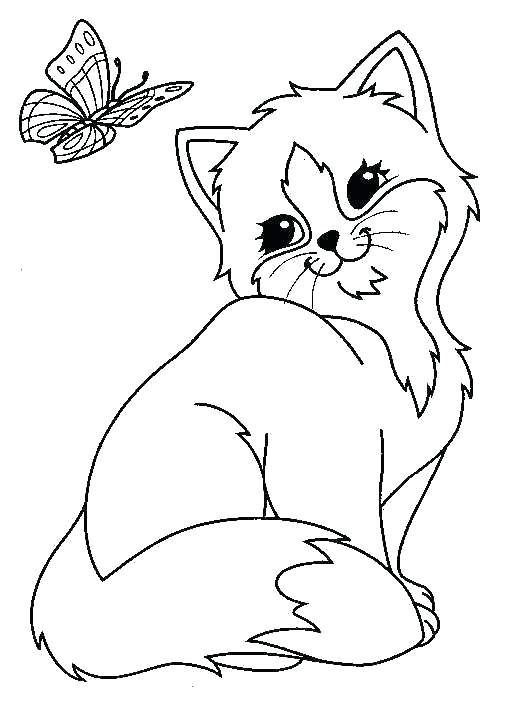 525x712 Animal Coloring Pages Free Cute Coloring Pages Of Baby Animals