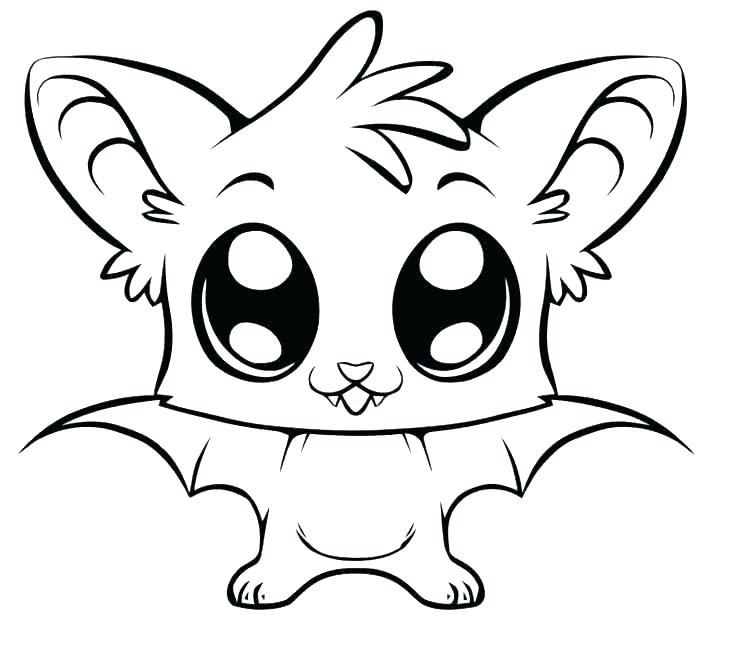 736x672 Adorable Coloring Pages S Cute Kitten Printable Coloring Pages