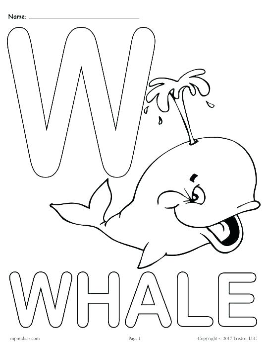 541x700 Letter Coloring Page Free Printable Alphabet Coloring Pages As