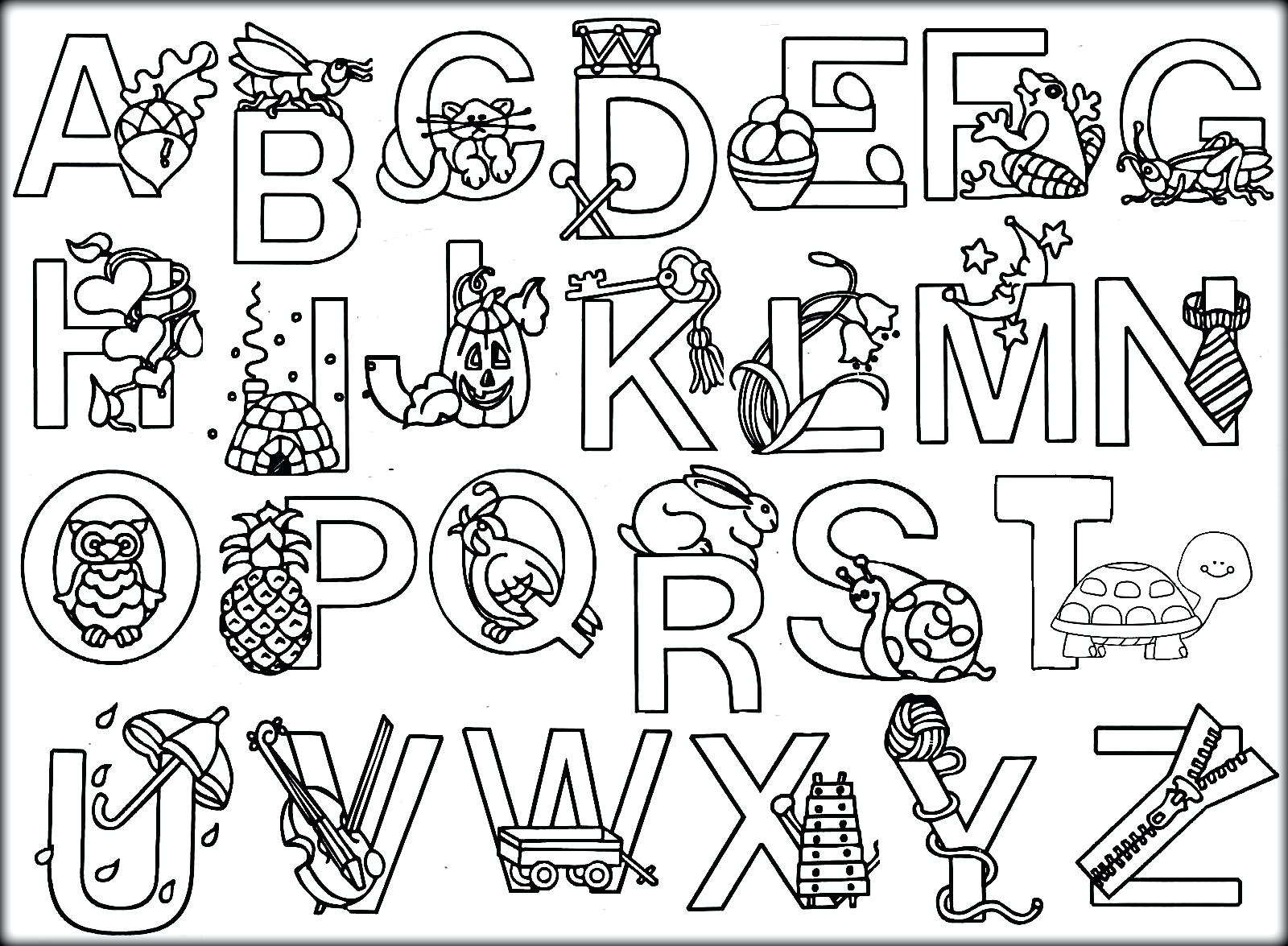 1600x1175 Letters Coloring Pages Alphabet To Good Print For Adults Letter K