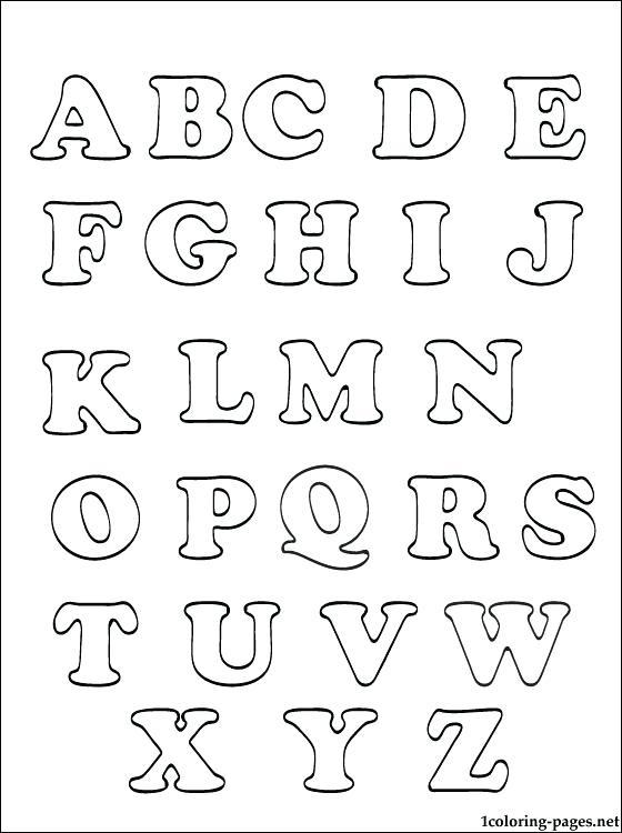 560x750 Preschool Alphabet Coloring Pages Coloring Pages Alphabets