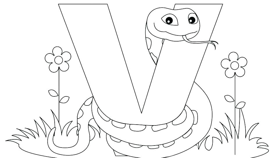960x544 Free Printable Alphabet Coloring Pages For Adults