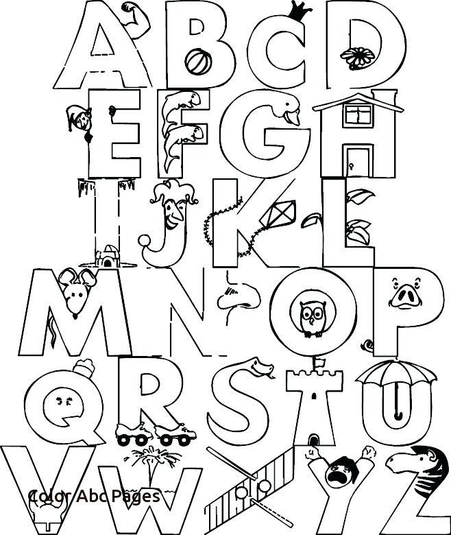 658x780 A Z Coloring Pages Unusual Idea Alphabet Coloring Pages A Z Color