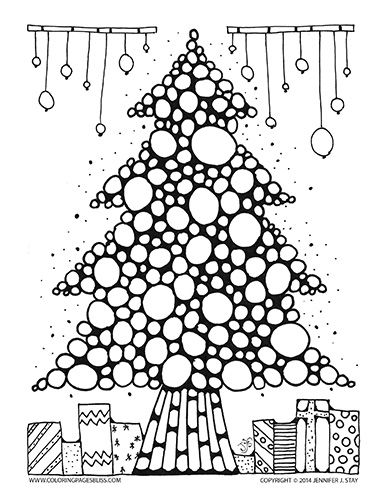 386x500 Best Seasonal Christmas Coloring Images