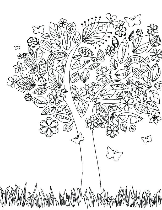 618x800 Abstract Coloring Pages For Adults Printable Coloring Pages Inside