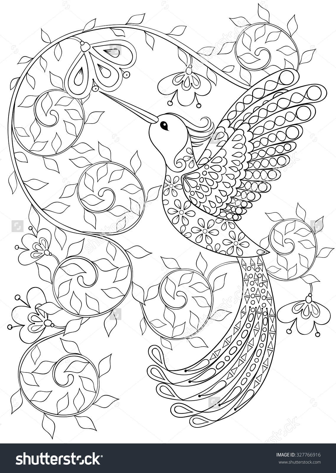 1138x1600 Bird Coloring Pages For Adults Bird Coloring Pages For Adults