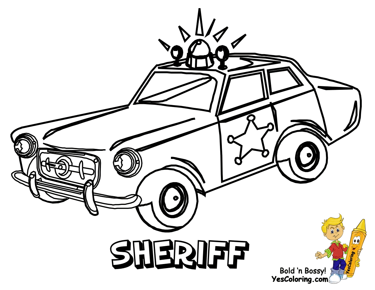 1200x927 Adult Coloring Pages Of Police Cars Download