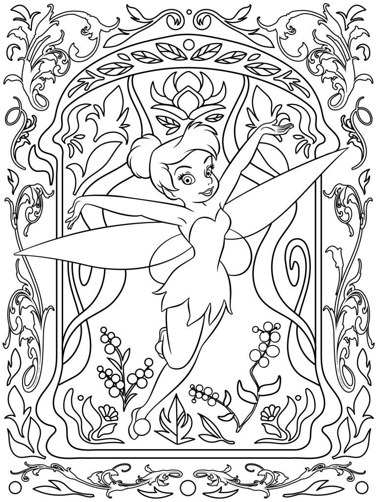 768x1024 Celebrate National Coloring Book Day With Disney Style Style