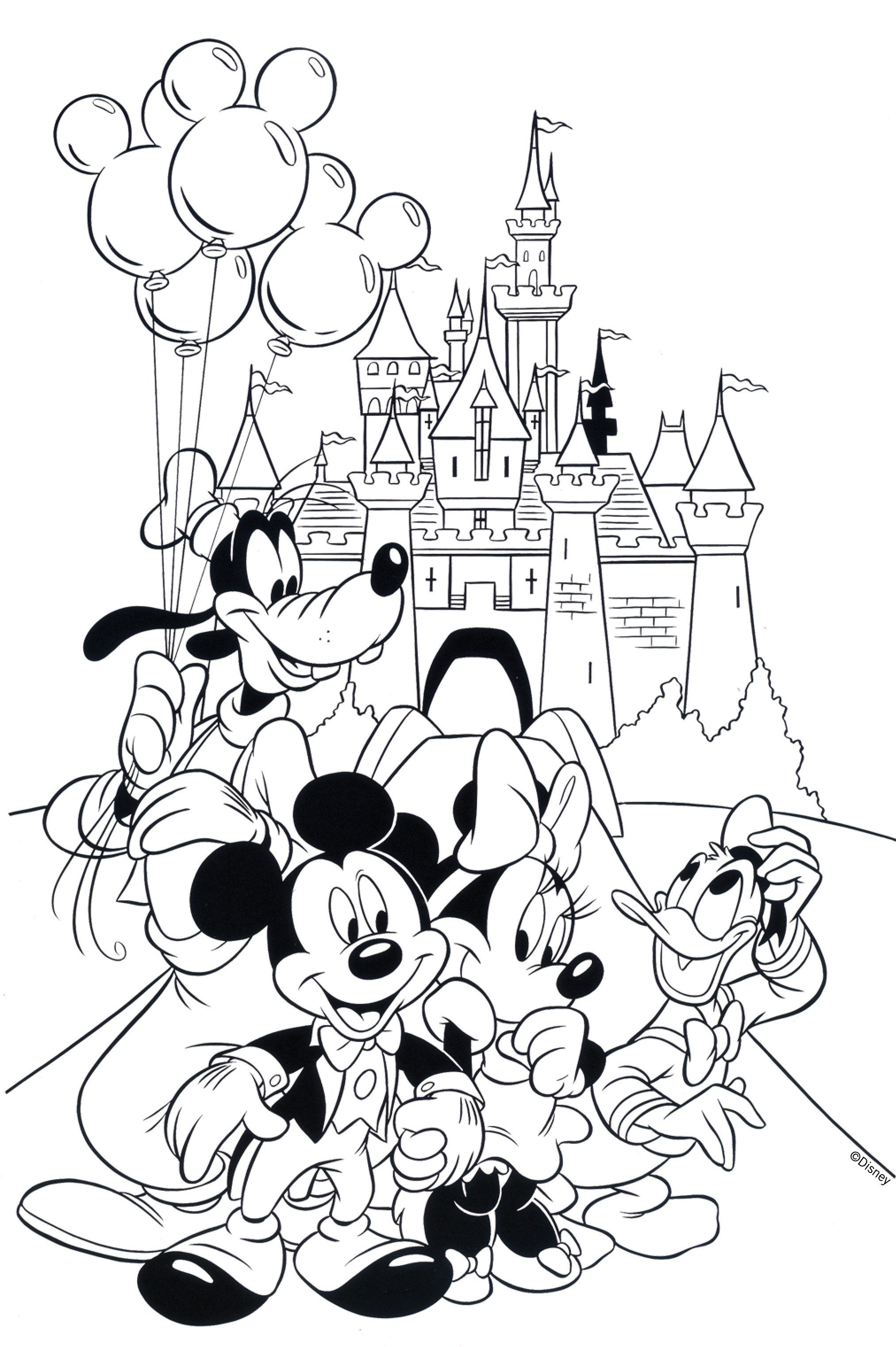2025x3042 Free Disney Coloring Pages Free, Coloring Books And Adult Coloring