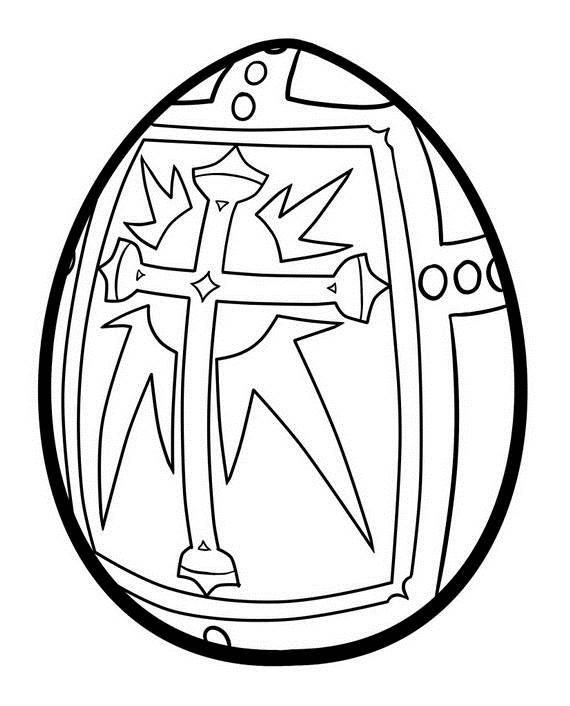 570x706 Adult Colouring Pages Easter