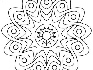 320x240 Easy Adult Coloring Pages Easy Adult Coloring Pages Mandala