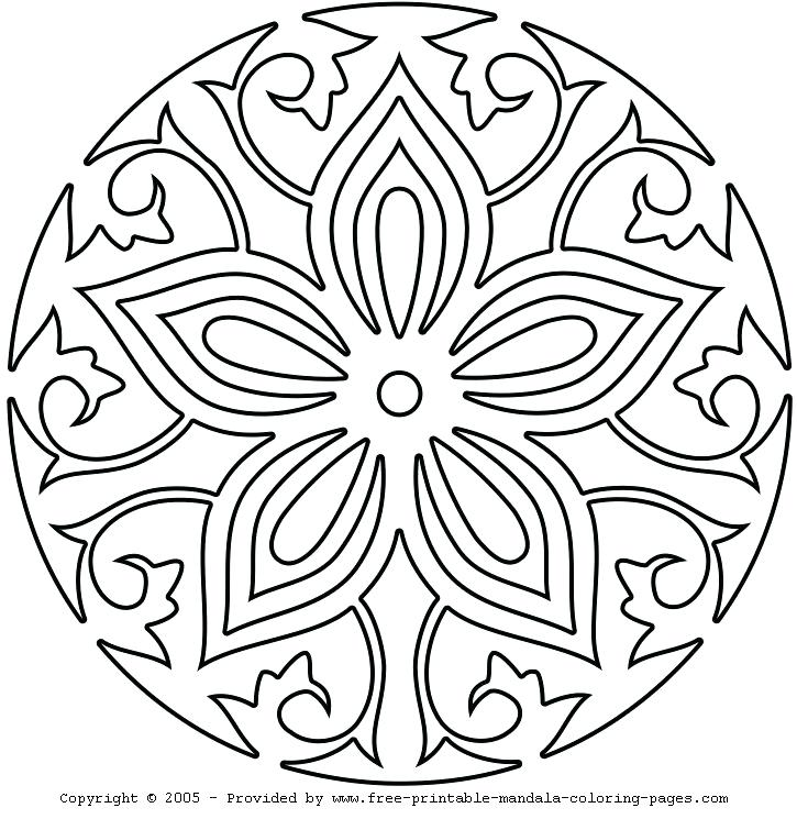 725x745 Free Printable Adult Coloring Pages Easy Printable Adult Free