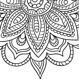 Adult Coloring Pages Easy at GetDrawings | Free download