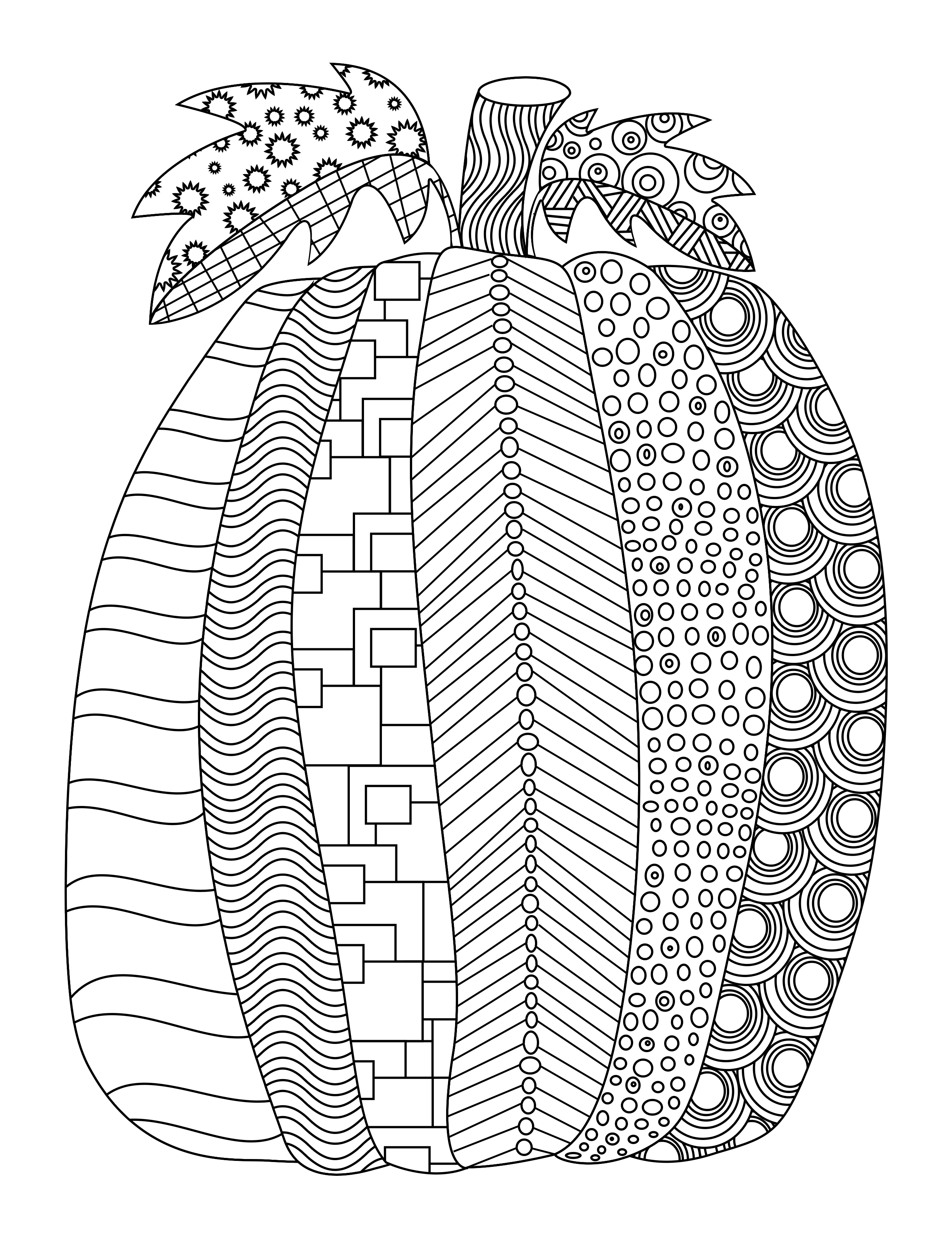 2550x3300 Fall Free Printable Adult Coloring Pages Pat Catan's Blog