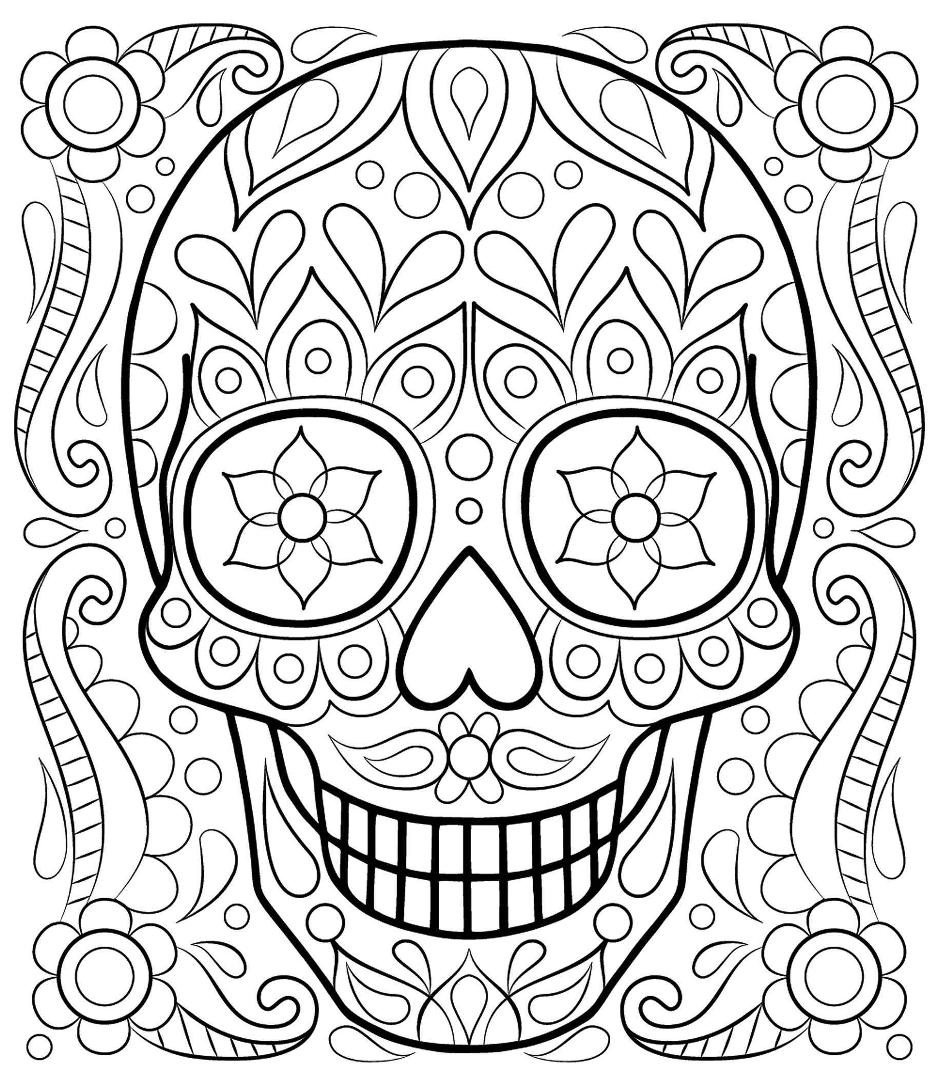 1828x2116 Free Adult Coloring Pages