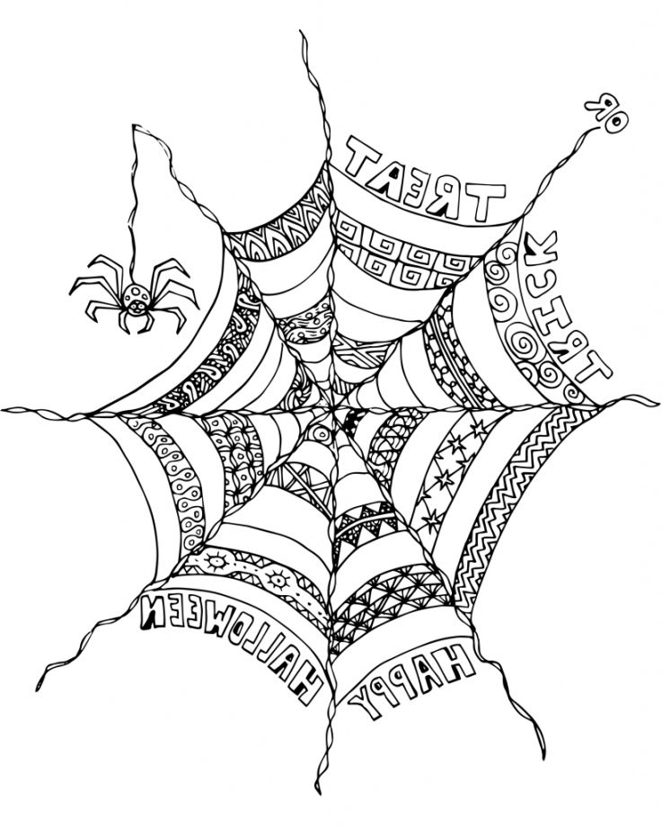737x921 Halloween Adult Coloring Pages Coloring Pages Kids