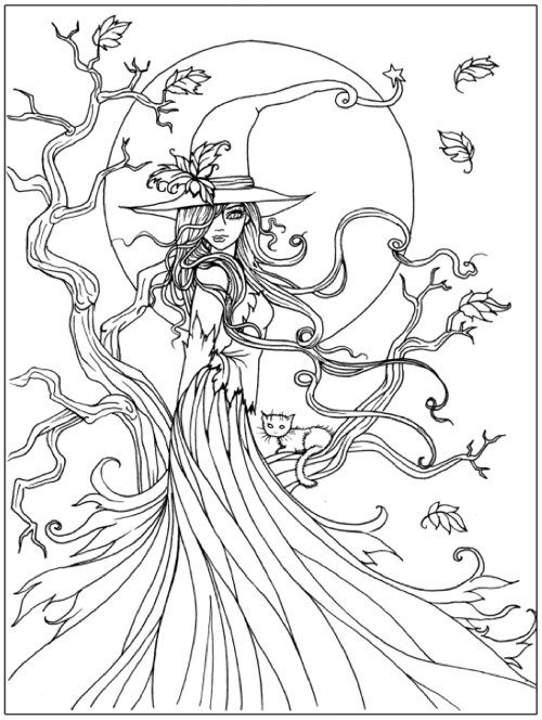500x664 Halloween Coloring Pages For Year Olds