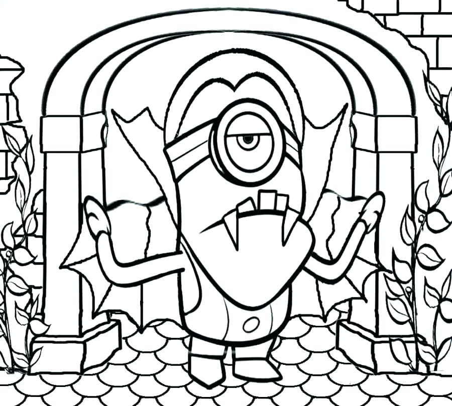 900x810 Happy Halloween Coloring Page Coloring Pages For Kindergarten