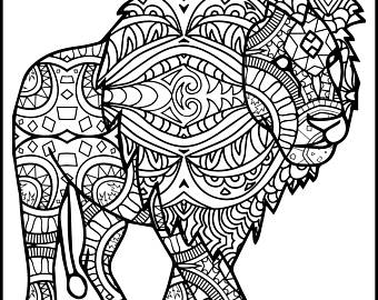 340x270 Dreamcatcher Coloring Pages Adult Coloring Book Printable