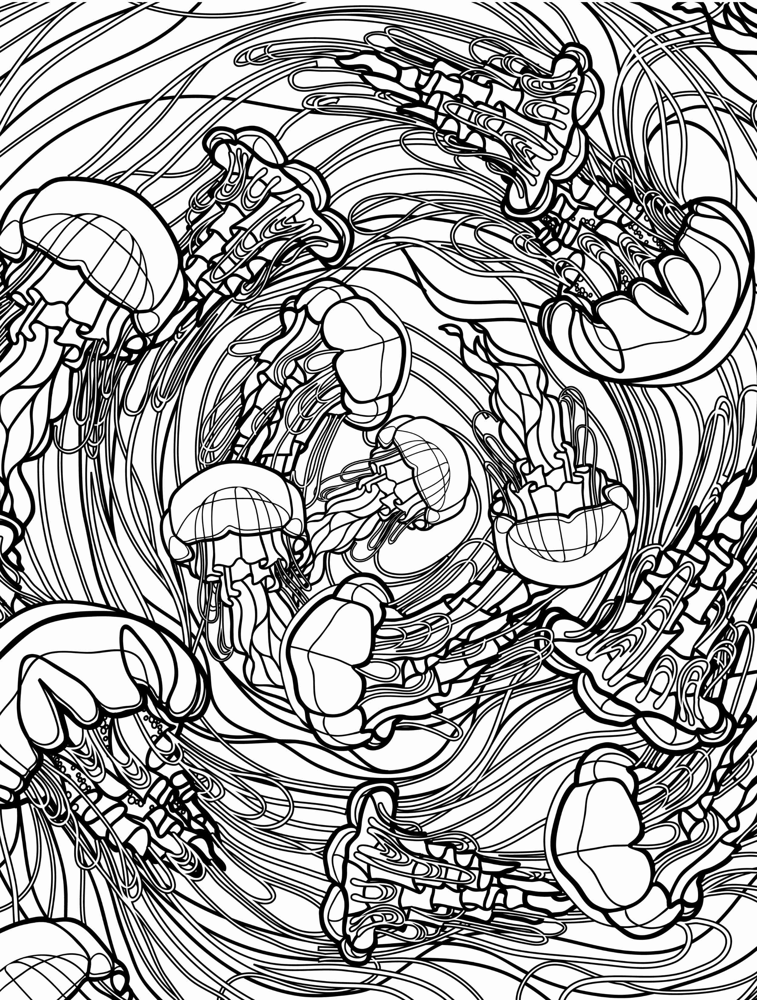 2500x3300 Adult Coloring Pages Ocean Colouring To Pretty Print Printable