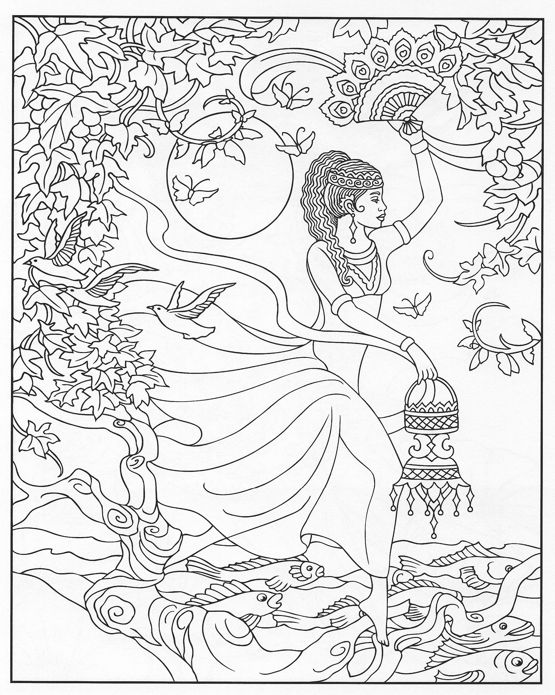2267x2841 Coloring Pages Adult Coloring