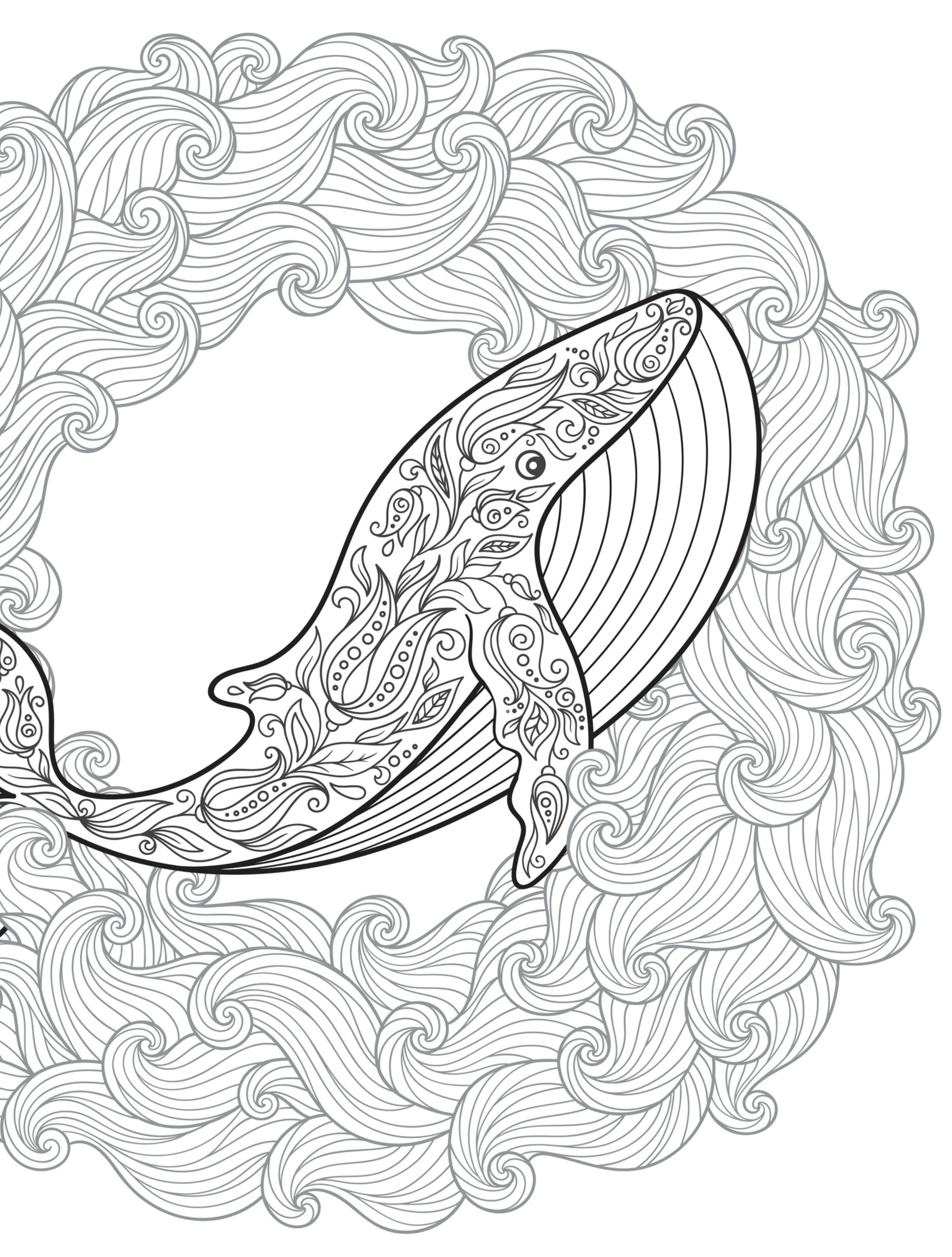 2500x3300 Abstract Ocean Coloring Pages Best Of Absurdly Whimsical Adult