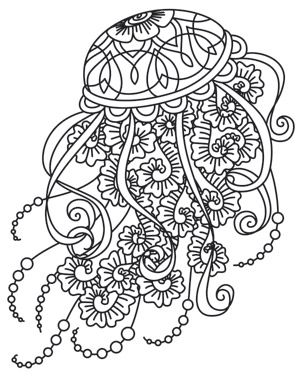 300x380 Drifting Jellyfish Design