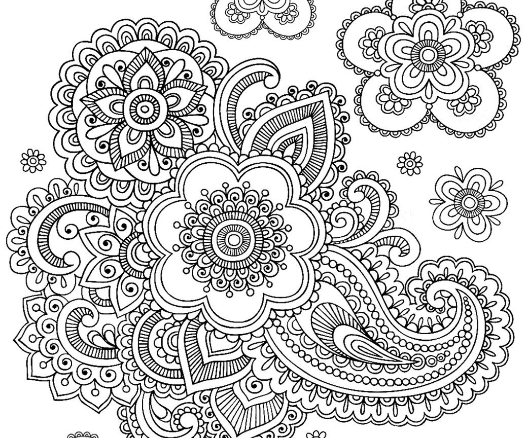 Adult Coloring Pages Paisley At Getdrawings Free Download
