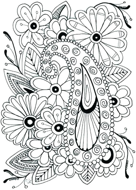 567x794 Flower Design Coloring Pages Coloring Page Of A Flower Color Page