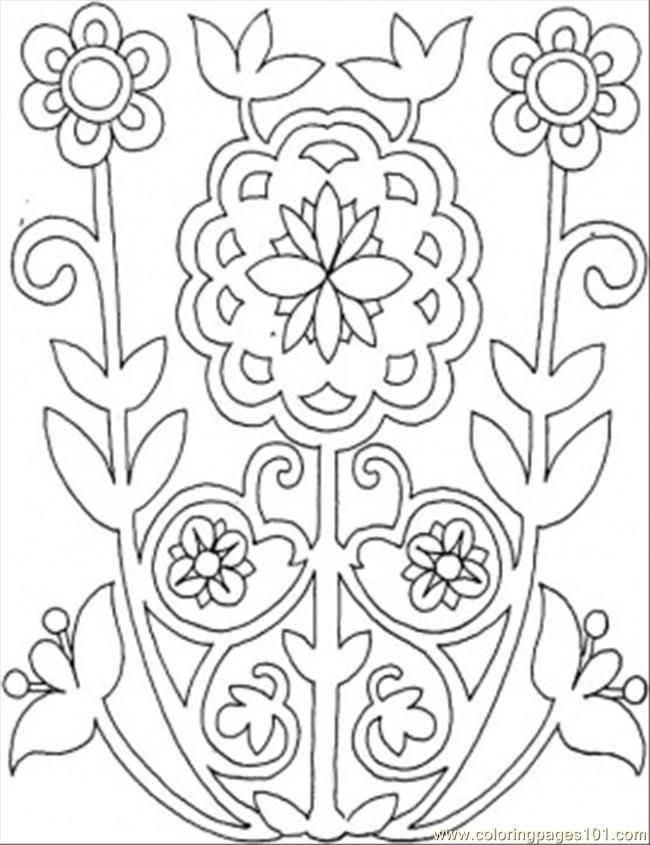 650x845 Pattern Coloring Pages For Kids Crafts Hawaiian