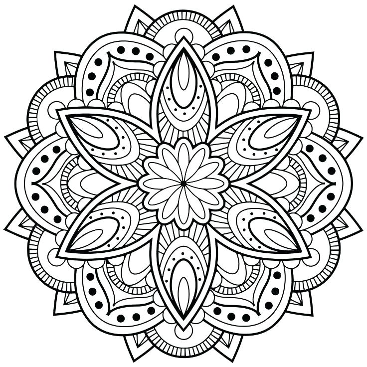 736x736 Free Adult Coloring Pages Pdf Coloring Pages Flowers