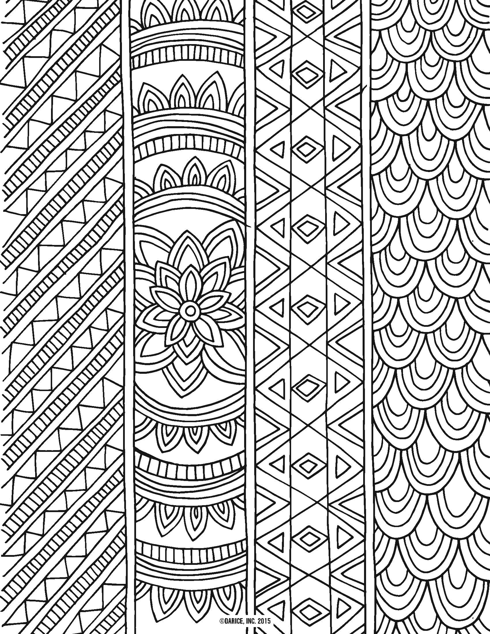 1700x2200 Free Printable Coloring Pages For Adults Pdf Collection