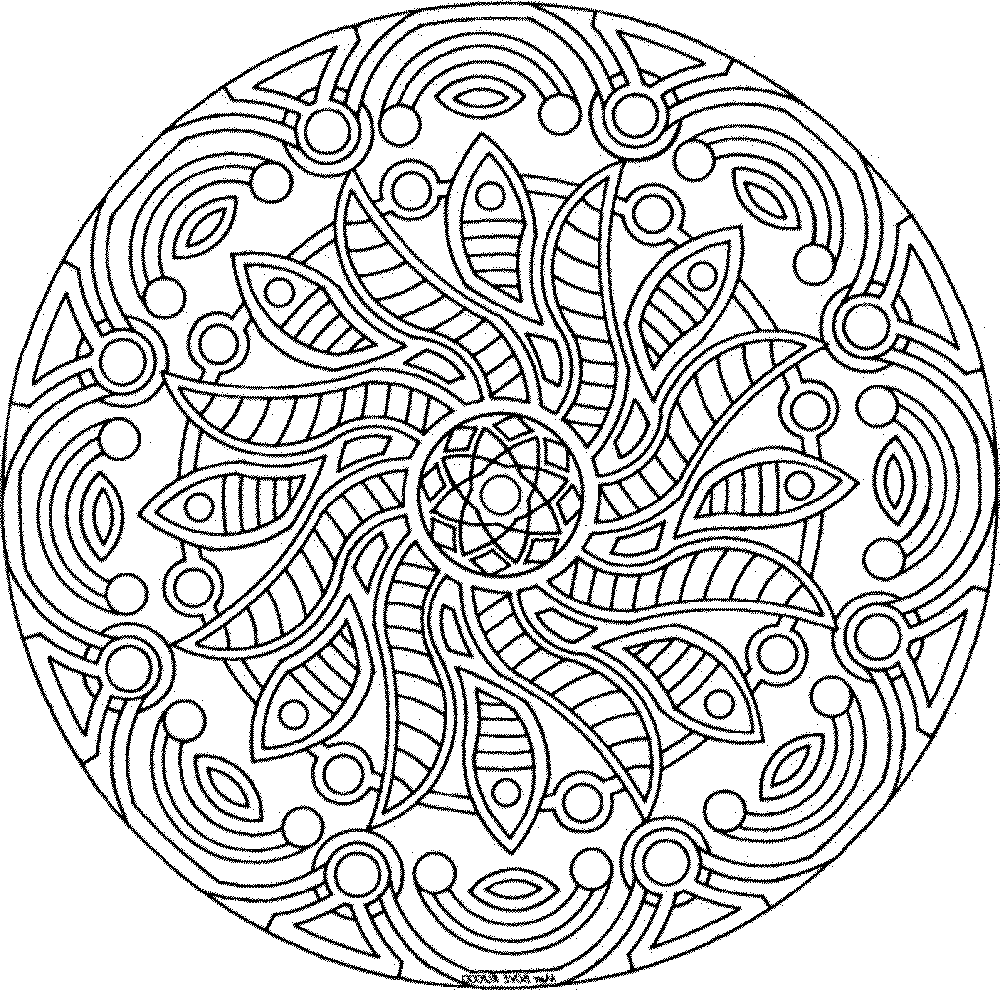 1000x990 Detailed Coloring Pages For Adults